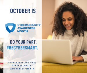 Do Your Part, #BeCyberSmart